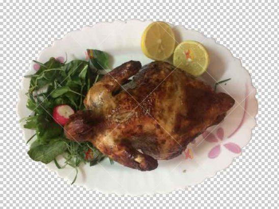 عکس با کیفیت مرغ سرخ شده