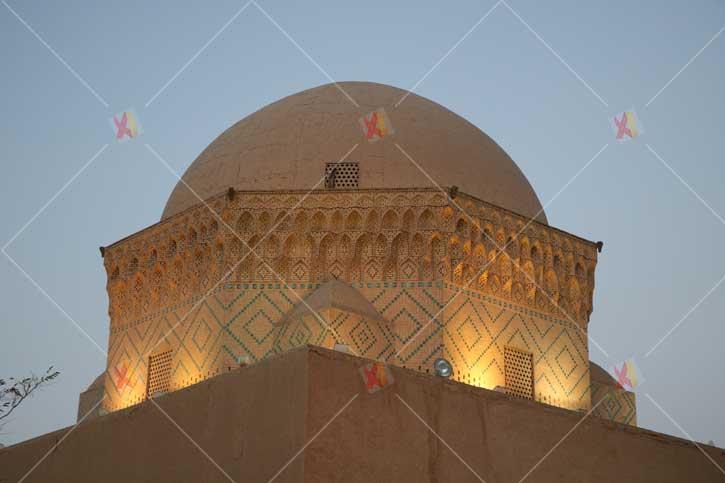تصاویر تاریخی شهر یزد بقعه دوازده امام