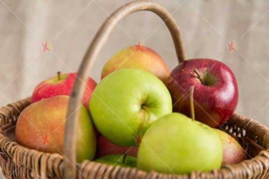 تصویر با کیفیت سبد میوه high quality fruits picture