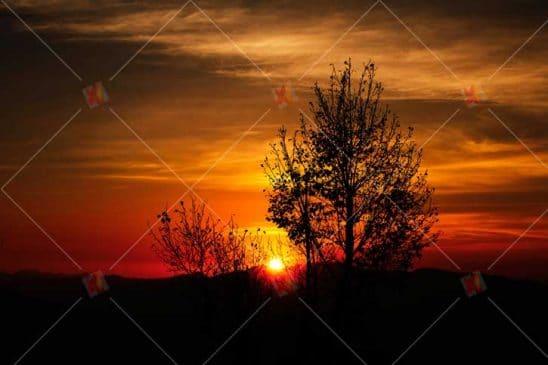 منظره غروب آفتاب Sunset high quality picture