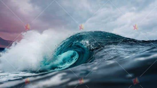 عکس با کیفیت موج دریا high resolution ocean picture