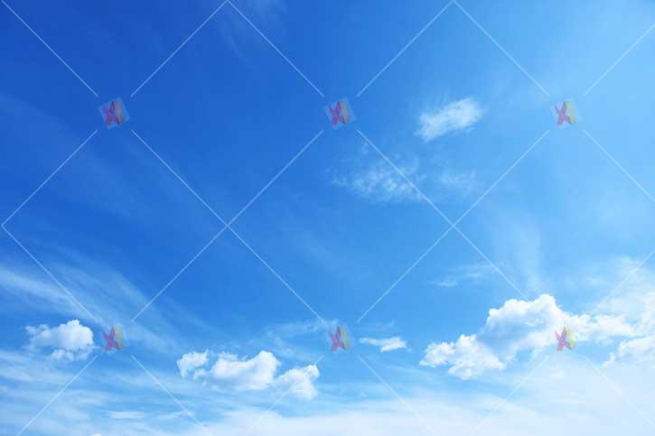 عکس با کیفیت آسمان آبی blue sky high quality picture