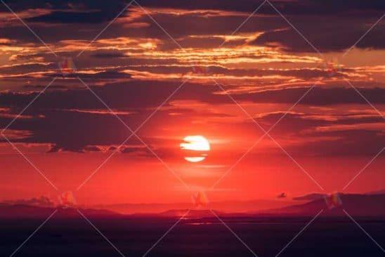 عکس با کیفیت غروب آفتاب sunset high quality picture