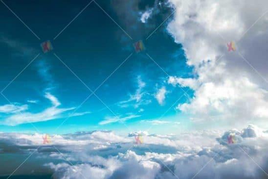 عکس با کیفیت آسمان ابری blue sky high resolution picture